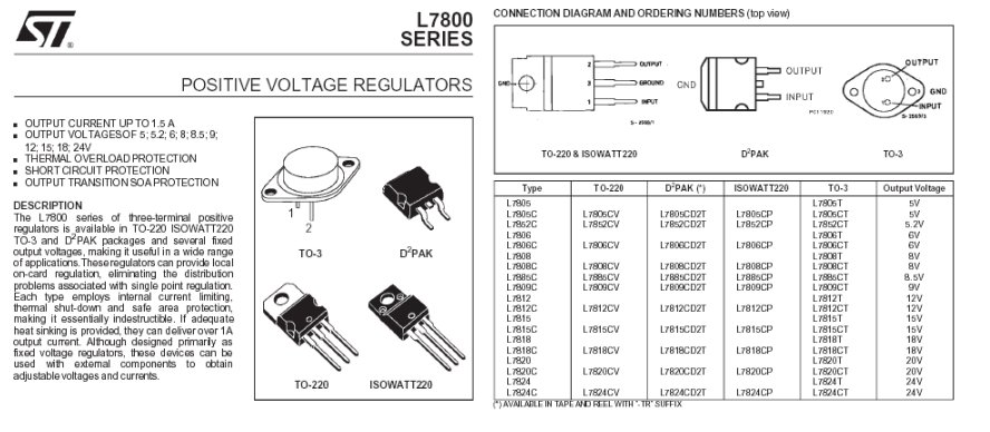 7812ct regulateur de tension 12v 1 5a to3. Black Bedroom Furniture Sets. Home Design Ideas
